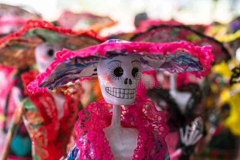 O catrina veste seus ornamento com benevolência fotografia de stock