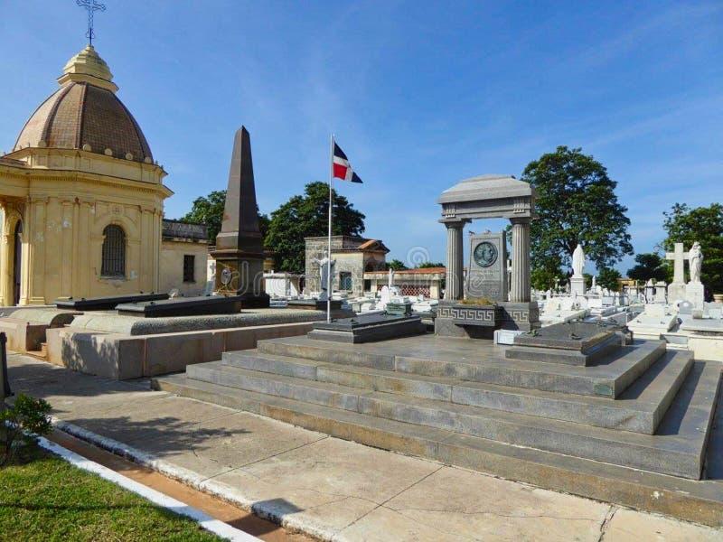 o cemitério famoso em Cuba no verão imagens de stock royalty free