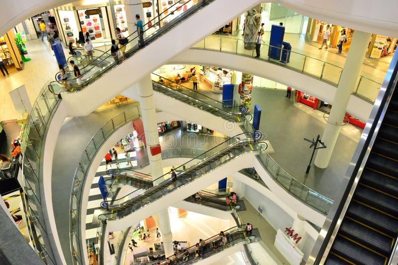 Centro comercial do terminal 21 foto de stock royalty free