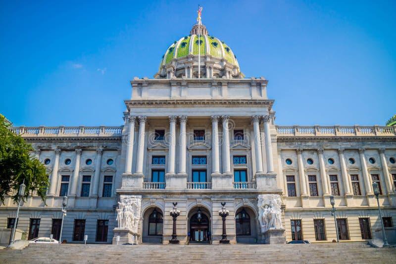 O centro da administração em Harrisburg, Pensilvânia fotos de stock royalty free