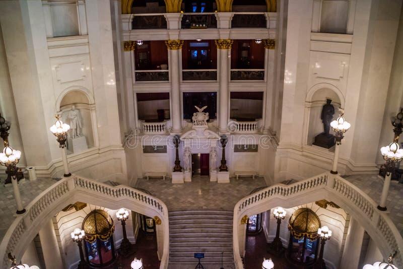 O centro da administração em Harrisburg, Pensilvânia imagens de stock royalty free