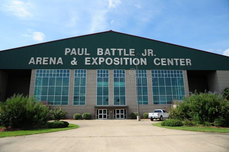 O centro da arena e da exposição da túnica, túnica Mississippi imagens de stock royalty free