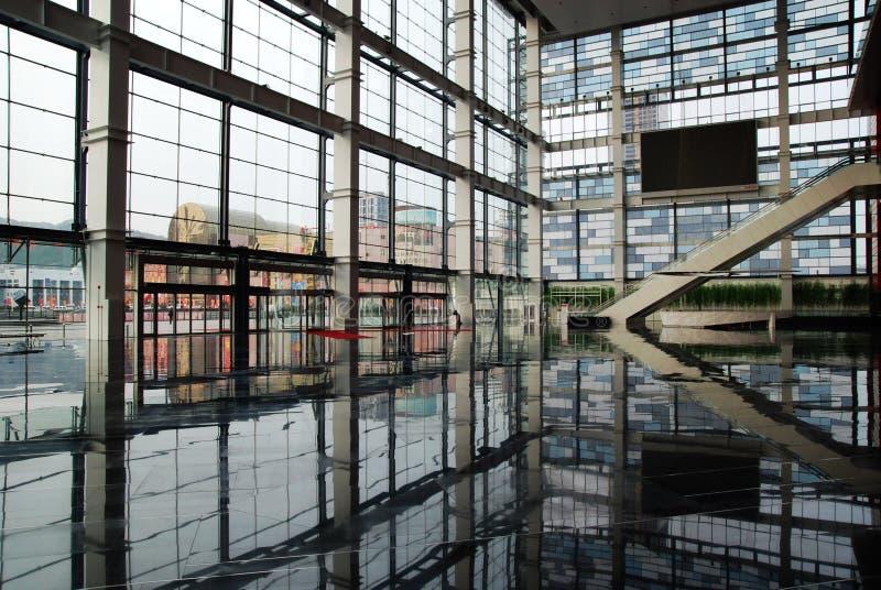 O centro da convenção e de exposição fotos de stock