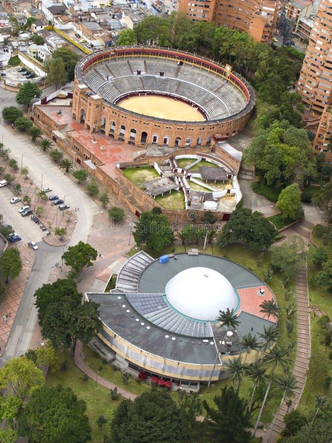 O centro de Bogotá fotos de stock