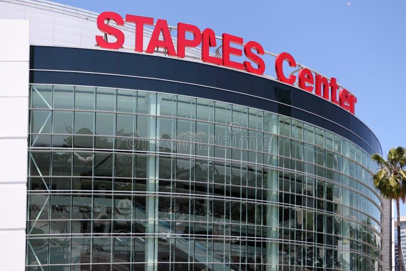O centro de convenções em Los Angeles do centro fotografia de stock royalty free