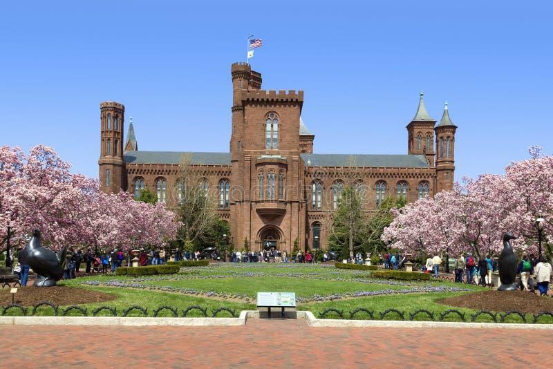 O centro de informação de Smithsonian, C.C. de Washington fotos de stock royalty free