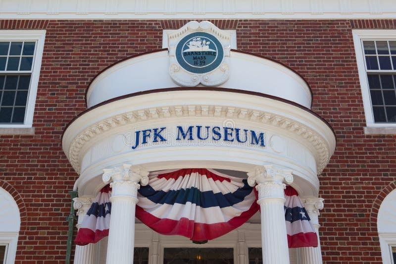 O centro de John F Kennedy Hyannis Museum fotos de stock royalty free