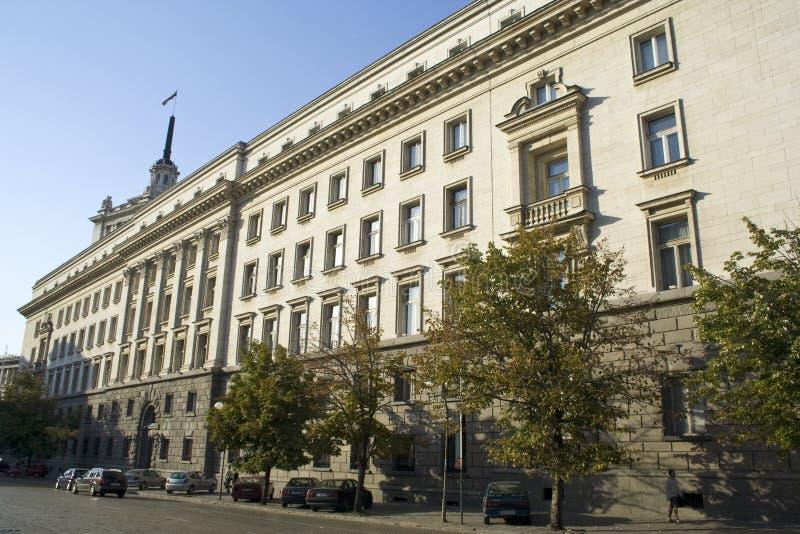 O centro de Sófia, Bulgária imagens de stock royalty free