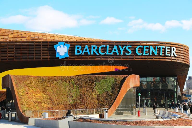 O centro o mais novo de Barclays da arena de esporte em Brooklyn, New York imagem de stock royalty free