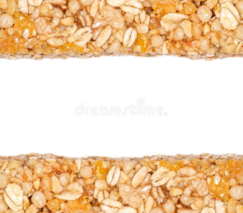 O cereal barra a beira imagem de stock royalty free