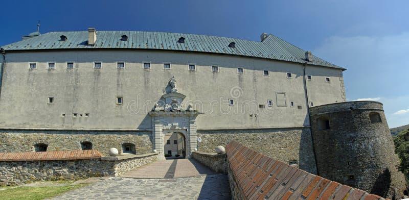 O Cerveny Kamen Castle, Eslováquia foto de stock royalty free