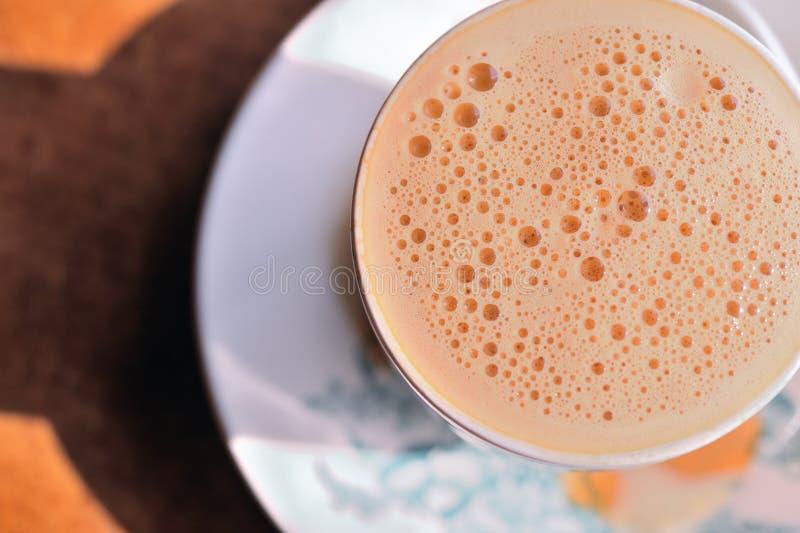 O chá do leite borbulha 3 fotografia de stock royalty free