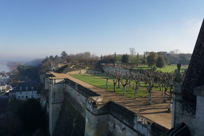O Château real de Amboise imagens de stock royalty free
