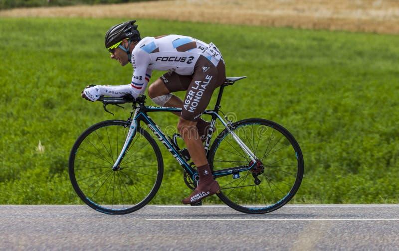 O ciclista Jean-Christophe Peraud