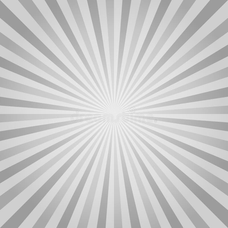 O cinza abstrato irradia o fundo Cmyk do EPS 10 do vetor ilustração royalty free