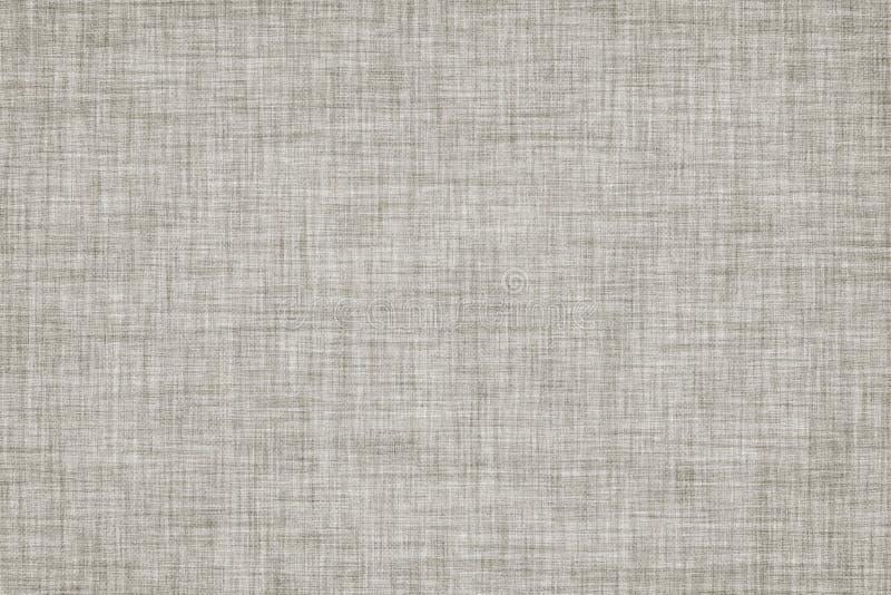 O cinza coloriu o fundo de linho sem emenda da textura ou do vintage ilustração do vetor
