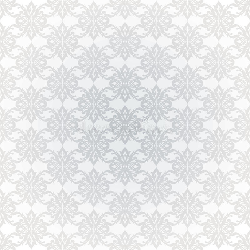 O cinza liga o papel de parede ilustração stock