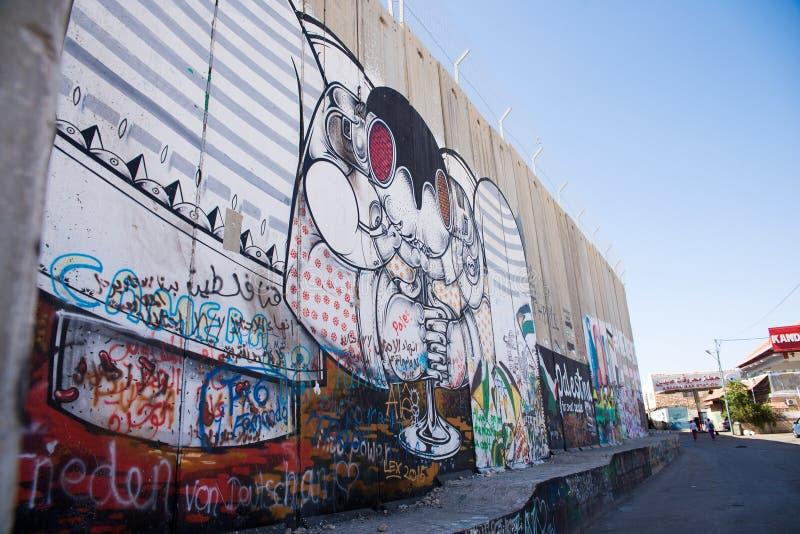 O Cisjordânia israelita foto de stock