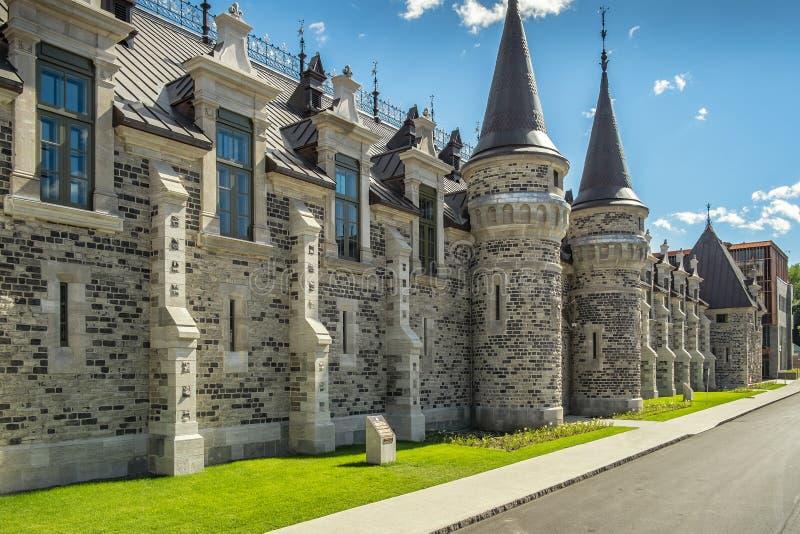 O Citadelle da fortaleza da vida de Cidade de Quebec A fotografia de stock
