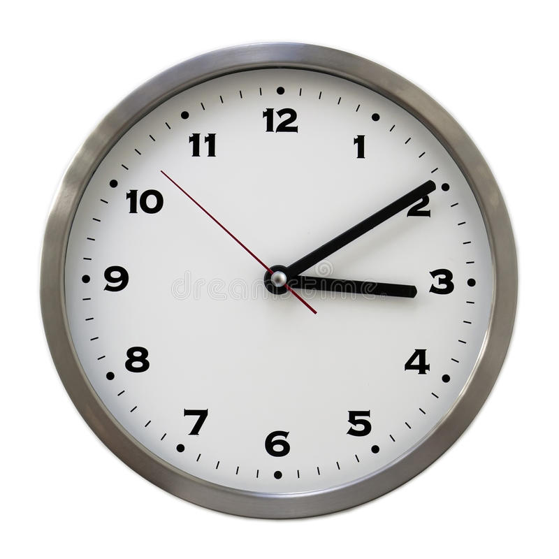 ... o'clock royalty free stock image