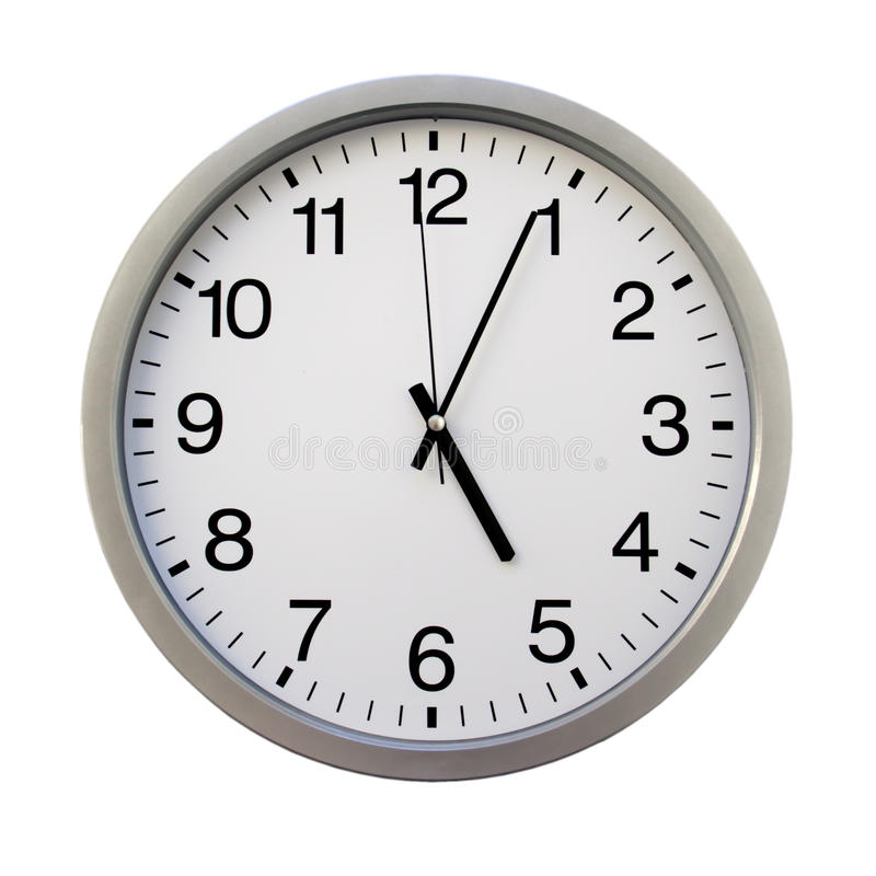 O'clock royalty free stock images