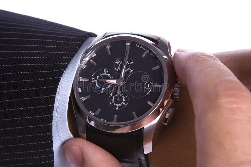 O?clock negen royalty-vrije stock afbeelding