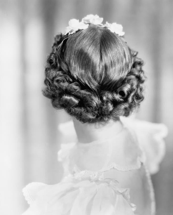 O close up das ondas suporta sobre da cabeça da mulher (todas as pessoas descritas não são umas vivas mais longo e nenhuma propri foto de stock royalty free