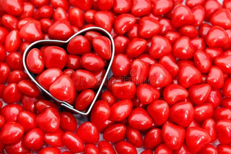 Download Doces Encarnados Do Coração Foto de Stock - Imagem de açúcar, fevereiro: 29848404
