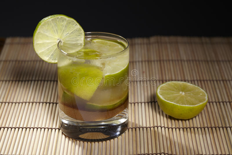 Caipirinha - cocktail imagem de stock royalty free