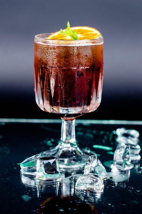 O cocktail Spritz fotografia de stock royalty free
