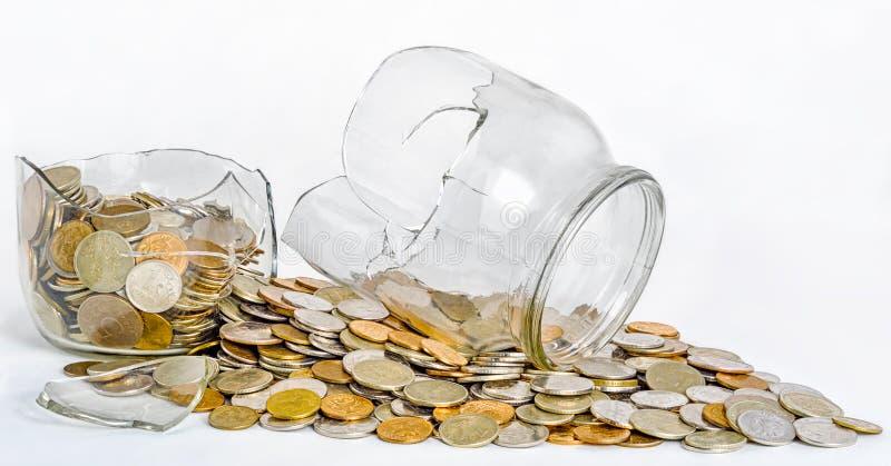 O Colapso Do Sistema Bancário Imagem de Stock - Imagem de crescimento,  frasco: 139952055