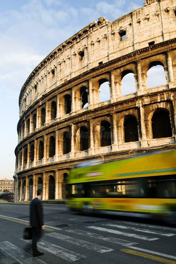 O coliseu de Roma imagem de stock royalty free