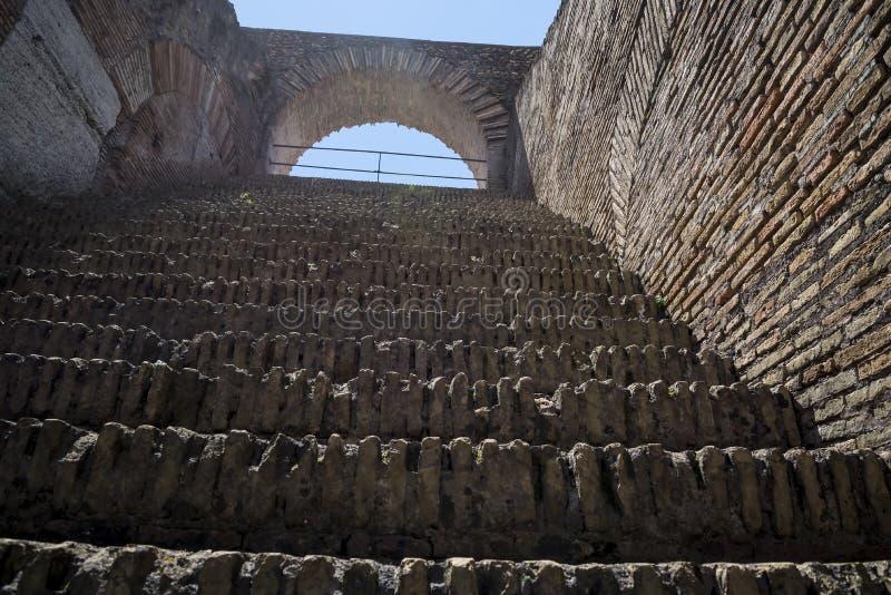 O Colosseum é a imagem a mais icónica de Roma e amado por milhões de visitantes à cidade eterno de Roma Itália fotos de stock