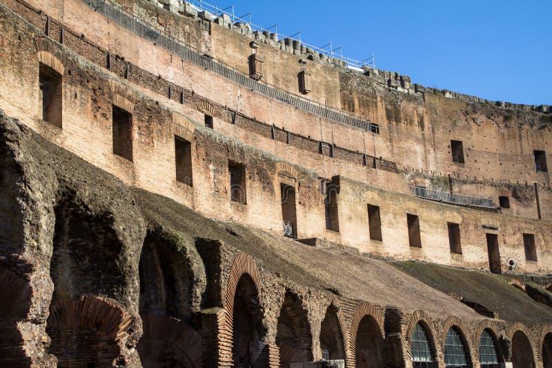 O Colosseum, Roma fotos de stock royalty free