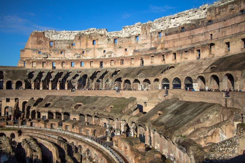 O Colosseum, Roma, Italy fotos de stock