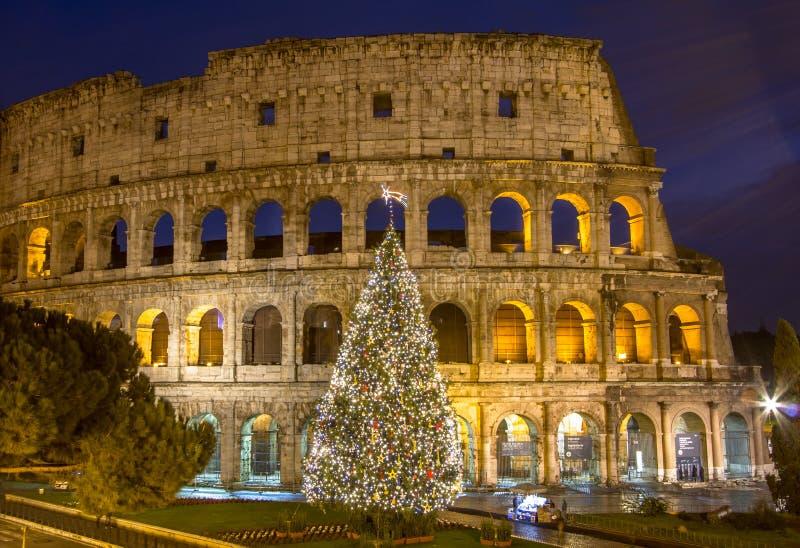 O Colosseum, Roma, Italy imagem de stock