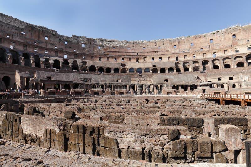 O colosseum romano fotografia de stock royalty free