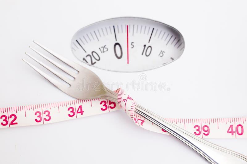 O conceito da dieta e perde o peso fotografia de stock royalty free