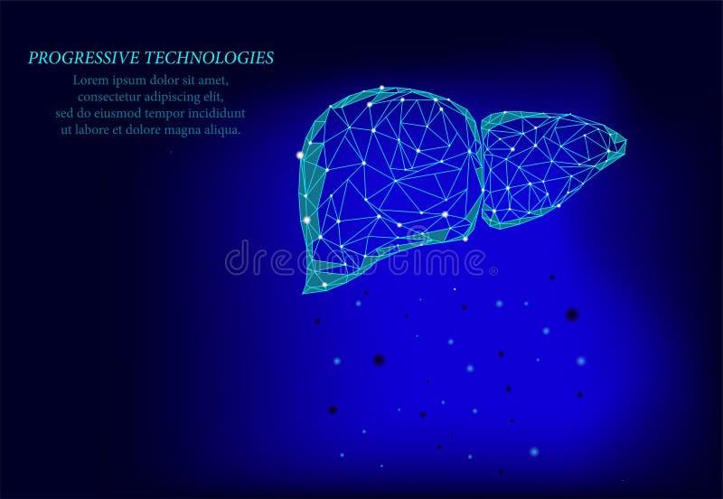 O conceito de negócio da medicina para tratar hepatite humana Hepatite Terapêutica hepática 3d modelo do fígado humano fotografia de stock