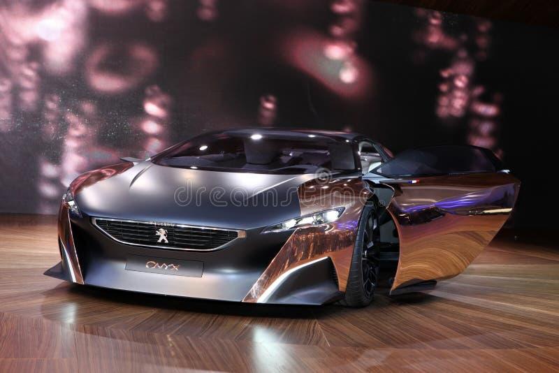 O conceito do Onyx de Peugeot imagens de stock royalty free