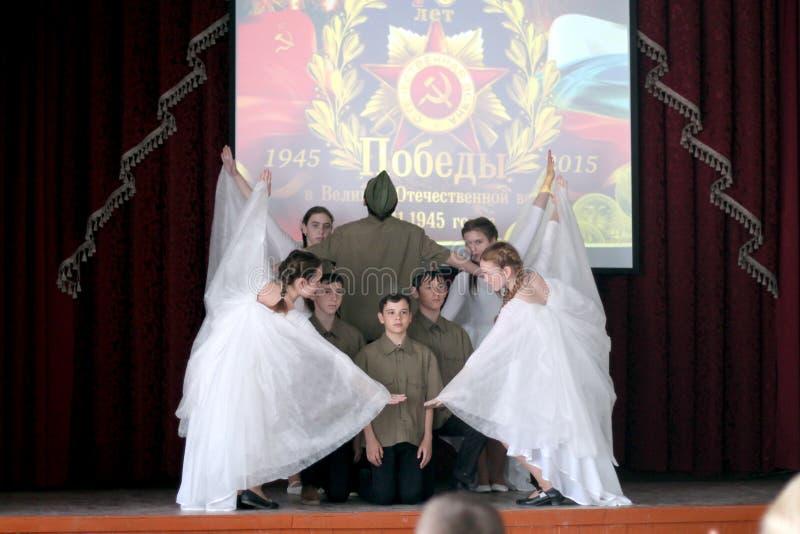 O concerto dedicado ao dia da vitória pode 9 imagem de stock