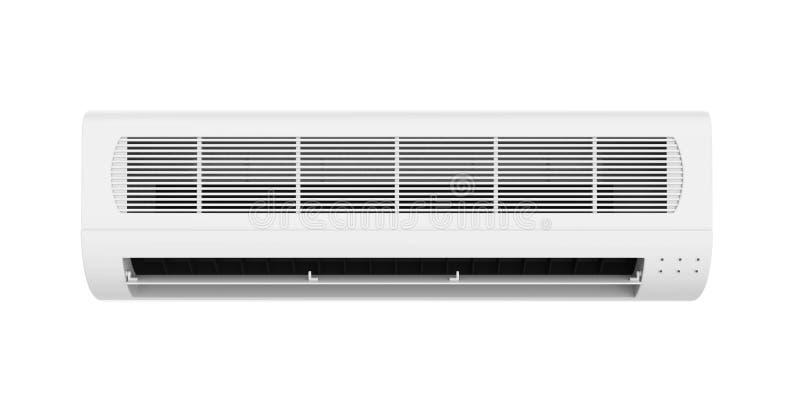 O condicionador de ar isolou-se ilustração stock