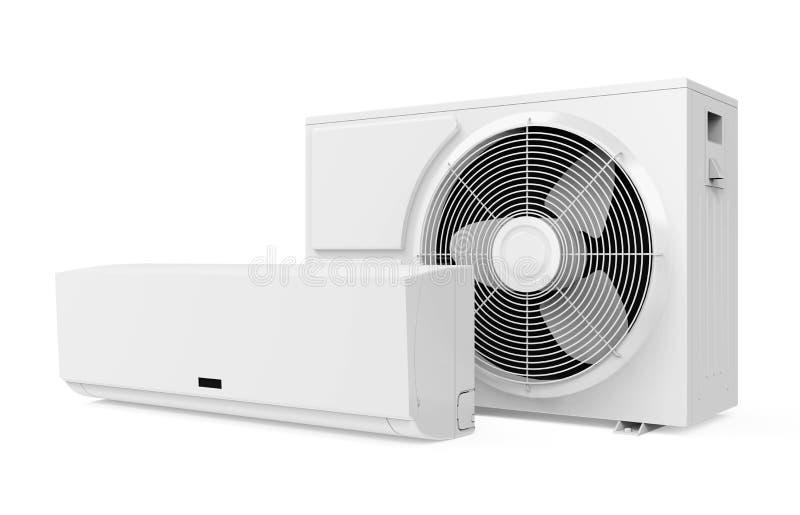 O condicionador de ar isolou-se ilustração royalty free