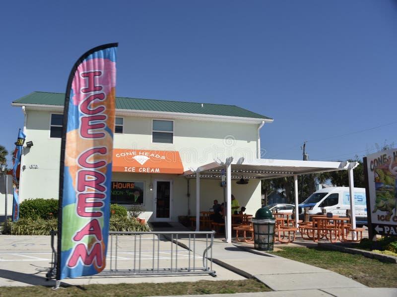 O cone dirige o gelado, St Augustine, Florida imagem de stock royalty free