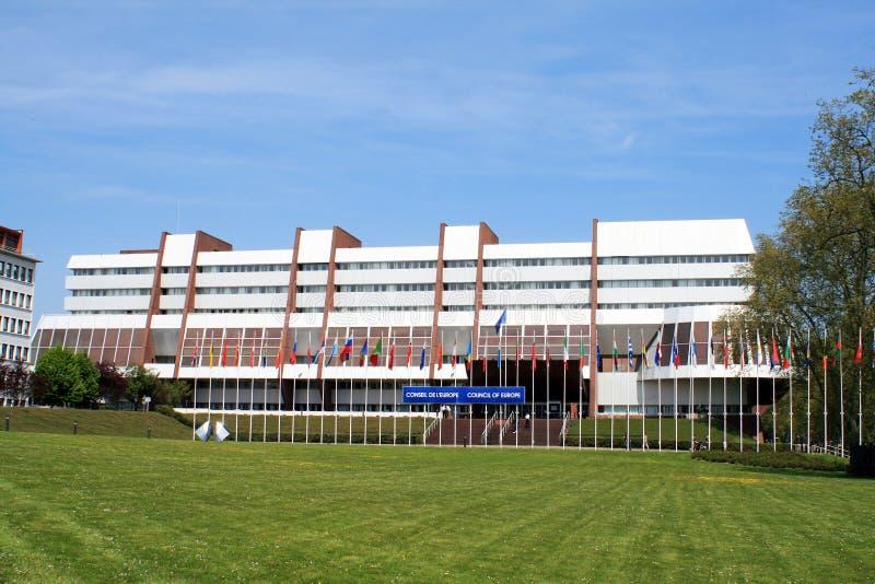 O Conselho da Europa em Strasbourg imagem de stock royalty free