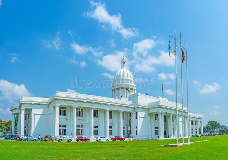 O Conselho municipal de Colombo imagem de stock