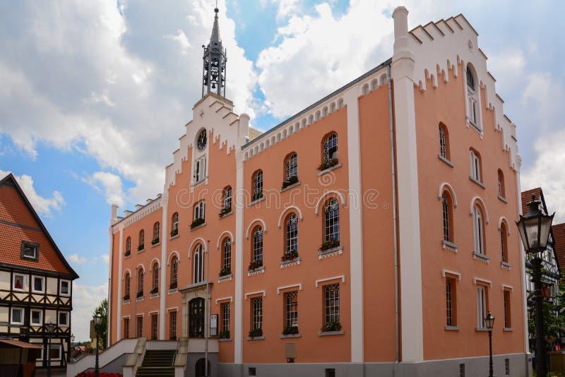 O Conselho Municipal de Hofgeisma imagem de stock royalty free