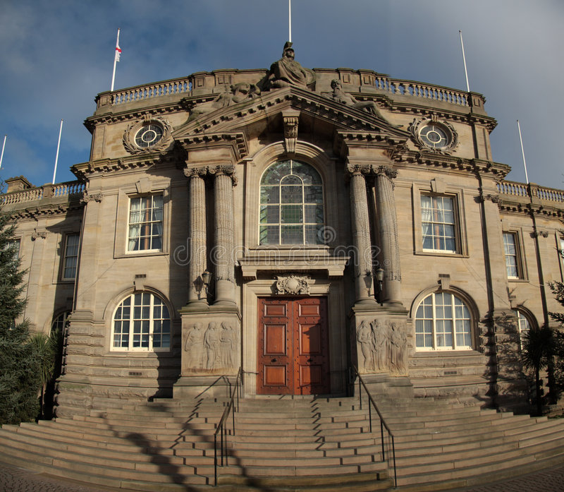 O Conselho sul de Tyneside foto de stock royalty free