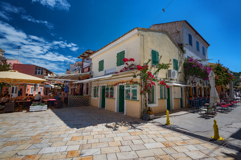O console de Paxos, Greece imagens de stock royalty free