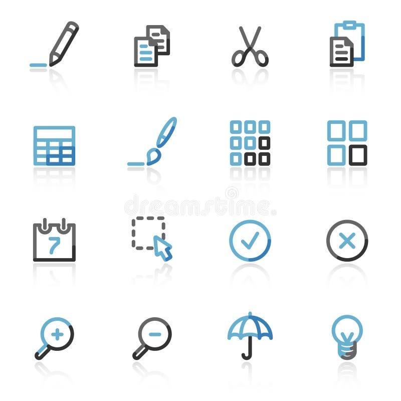 O contorno publica ícones do Web